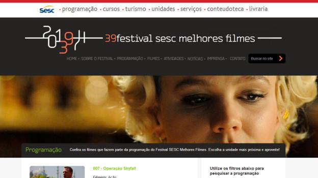 39 Festival SESC Melhores Filmes