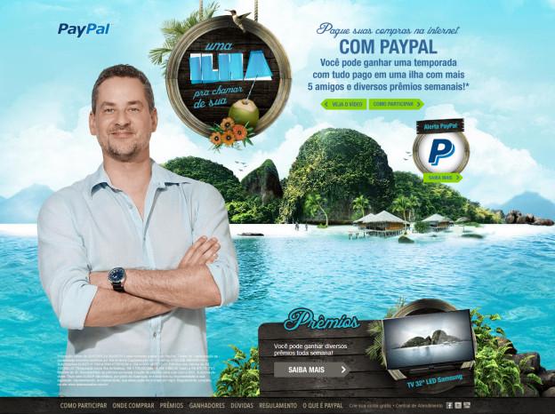 PayPal Brasil: Uma ilha para chamar de sua